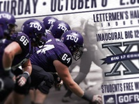 TCU Football Gameday Poster - ISU