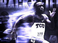 TCU Track & Field Poster (Finished)