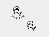 Logo design for Jun&Tonic