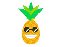 Campus Palms Pineapple