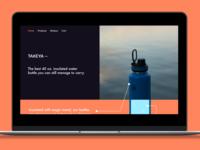 Takeya Landing Page