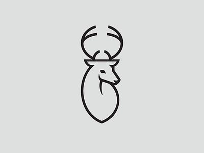 Deer logo deer