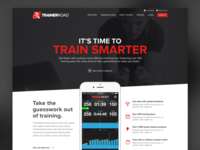 TrainerRoad Homepage Mockup Variation 4