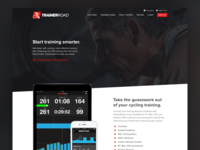 TrainerRoad Homepage Mockup Variation 5