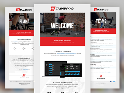 New User Onboarding Email Series ui marketing cycling ux email
