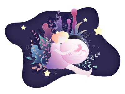Unicorn in Dream