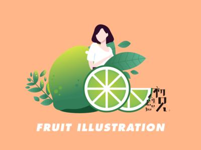 Vector illustration-fruit