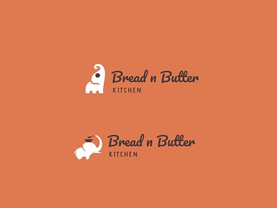 Bread and Breakfast logo for Kids procreateapp flat minimal web vector typography icon branding ui logo