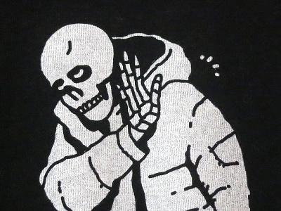Nah, I'm good black and white vibes positive yolo apparel illustration heytvm