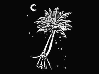 Cosmic Palm Tree