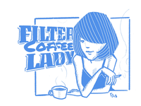 Filter Coffee Lady
