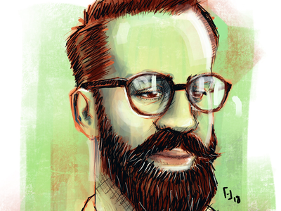 Portrait 1/50 drawing digital illustration procreate illustration portrait
