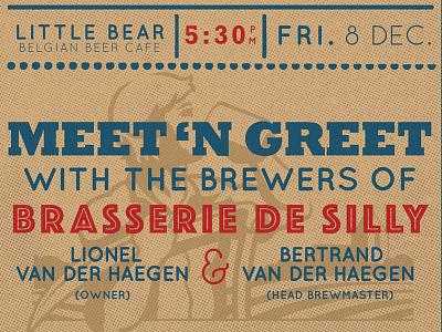 Meet 'n Greet Poster vintage
