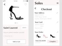 Soles Shoe App Pt 2