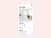 Home Sensor App Screen