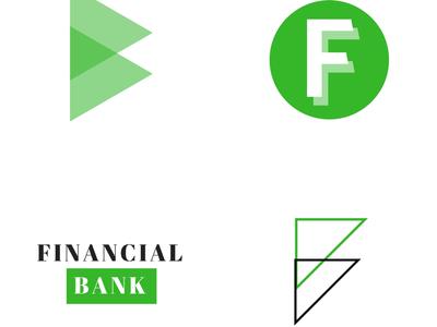 Financial Bank Logos finances bank money logos
