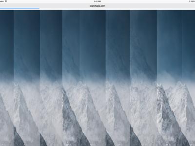 Brutalist Website Design 3 creative blue white mountain website concept webdesign web brutalist sketch art design