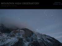Observatory Website Design
