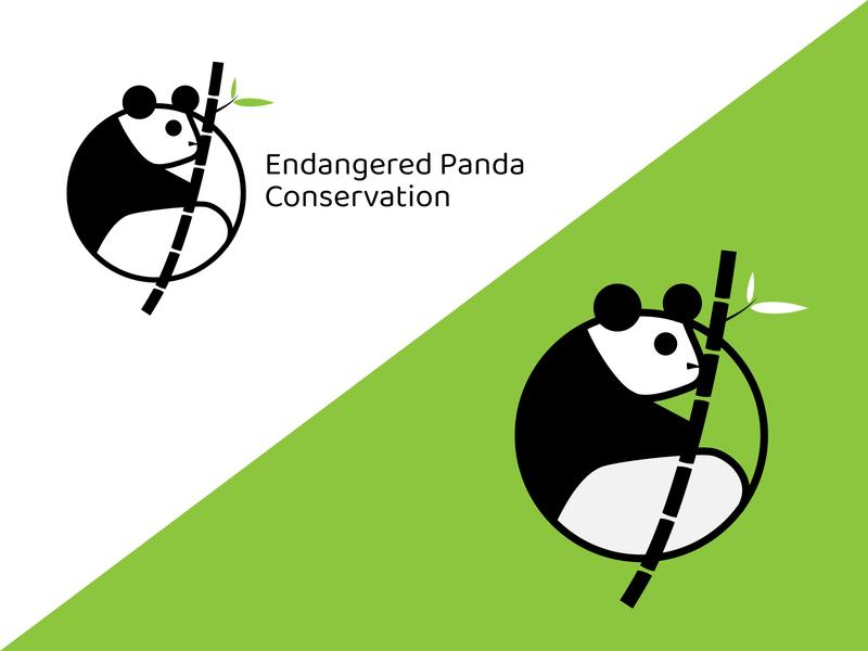 Daily Logo Challenge #3 - Panda