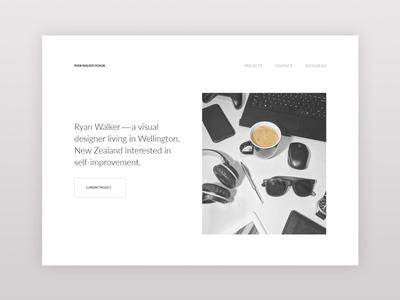 Personal Portfolio Landing Page