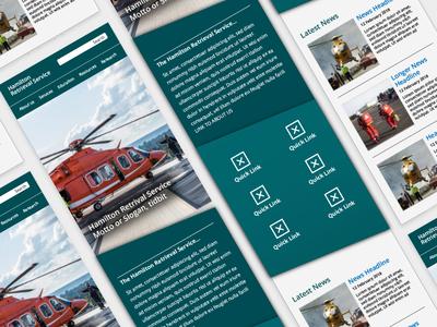 Hamilton Retrieval Service Mobile site