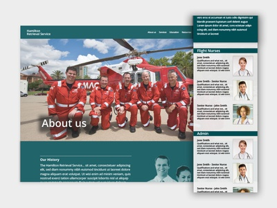 About us Page for Hamilton Retrieval Service