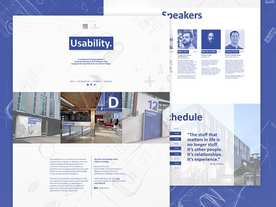 Usability. Conference code ui webdesign conference ux