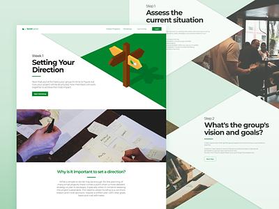 Social Capital: Example Workshop coding branding web xd website responsive mobile adobe webdesign ux ui design