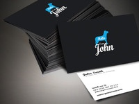 Hello Business Card design
