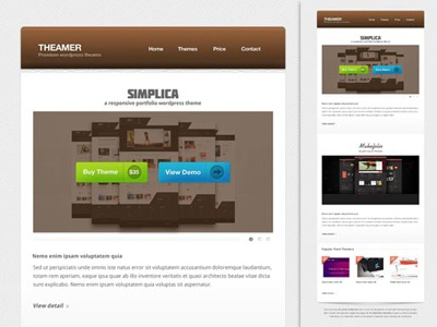 Themer email newsletter design email newsletter e-mailer theme theamer template brown minimal creative simple