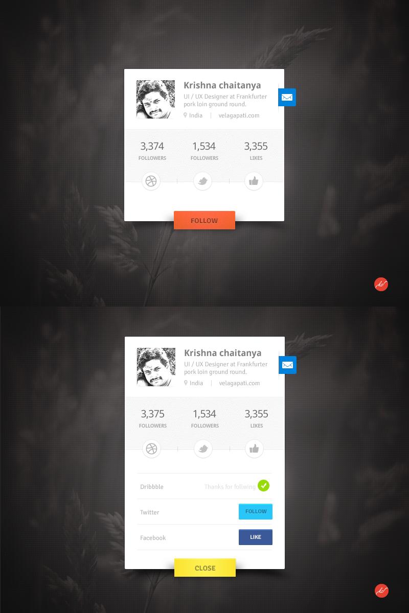Kc userprofile widget1
