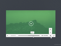 Freebie - Video Player PSD