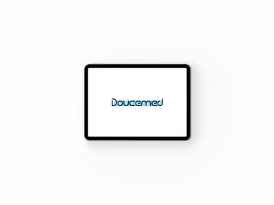 DOUCEMED: logo mockup