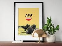 AFF: logo mockup