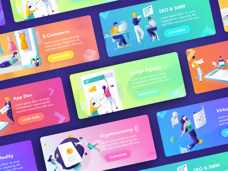 Product invite web app branding animation icons infographics vector illustration ux ui illustrations graphic design gradient colors 2d