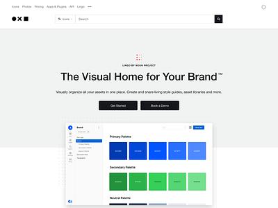 Lingo Landing Page ux marketing page styleguide asset management landing page graphic design ui design responsive design product design