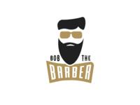 Bob The Barber - barber logo