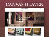 CanvasHeaven Website