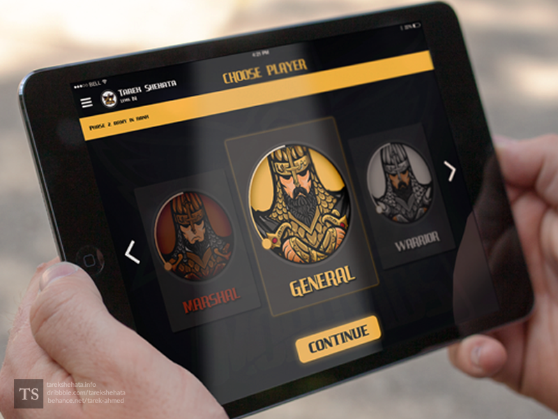 The Ancients | Game warcraft ancients play interface website game app ux ui