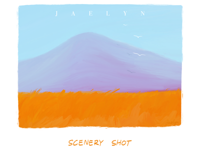Illustration Series: Scenery Shot procreate illustration