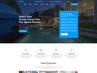 Real Estate PSD Template.