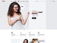 Tani - e-Commerce Fashion PSD Template