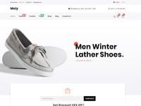 Moly - eCommerce Fashion PSD Template