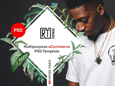 RT Tonic - Multipurpose eCommerce PSD Template