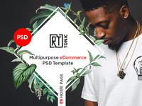 RT Tonic - Multipurpose eCommerce PSD Template