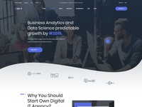 It Services Agency template