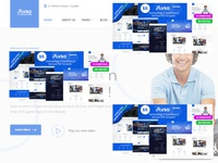 Technology IT Solutions & Services PSD Template