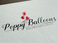 Poppy Balloons Logo