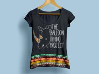 Balloon Rhino Project T-shirt