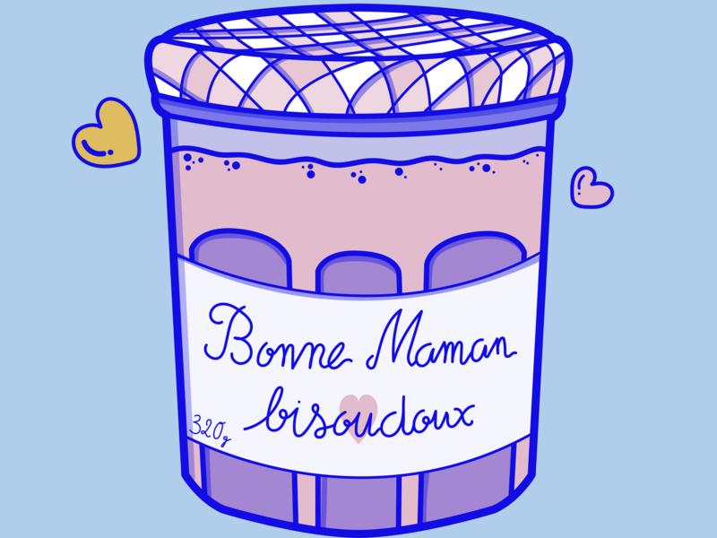 Bonne Maman bisoudoux